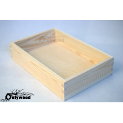 Rectangular Wooden Salver...