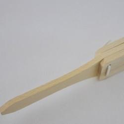 Drewniana kołatka myśliwska...