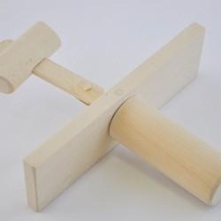 Kołatka drewniana