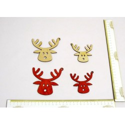 Drewniana Ozdoba Rudolf