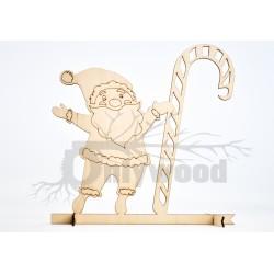 Mikołaj - stojak na bombkę